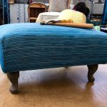 Footstool Queen-Anne